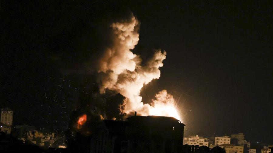 83 Palestiniens tués dans des raids israéliens, depuis lundi