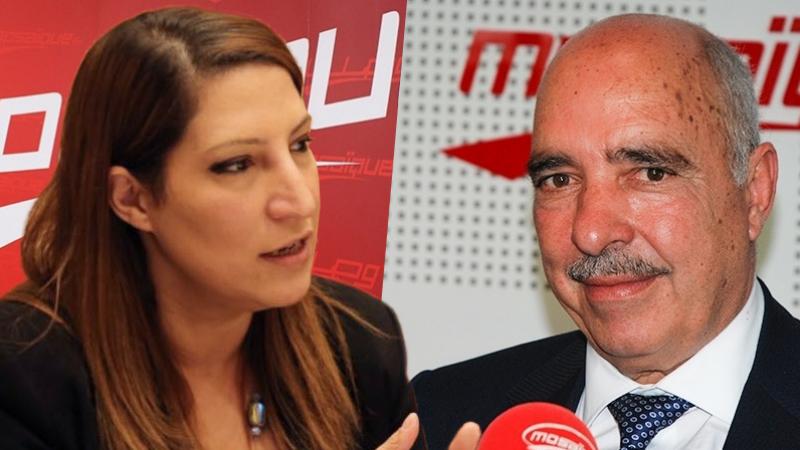 Abdessater Ben Moussa et Zaineb Turki