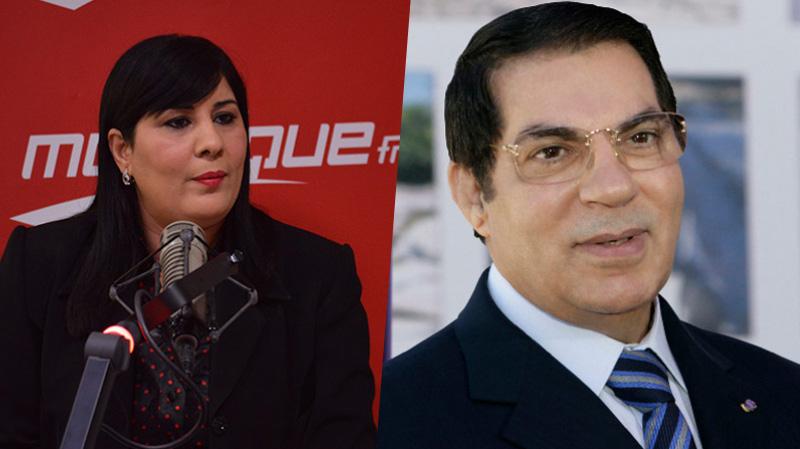 Abir Moussi et Ben Ali
