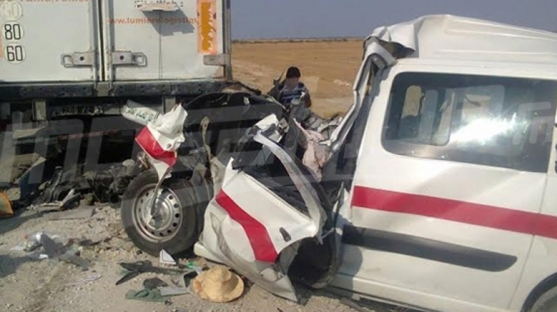 accident camion louage
