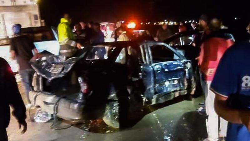 Accident de la route au Kef : Un bébé mort et treize blessés