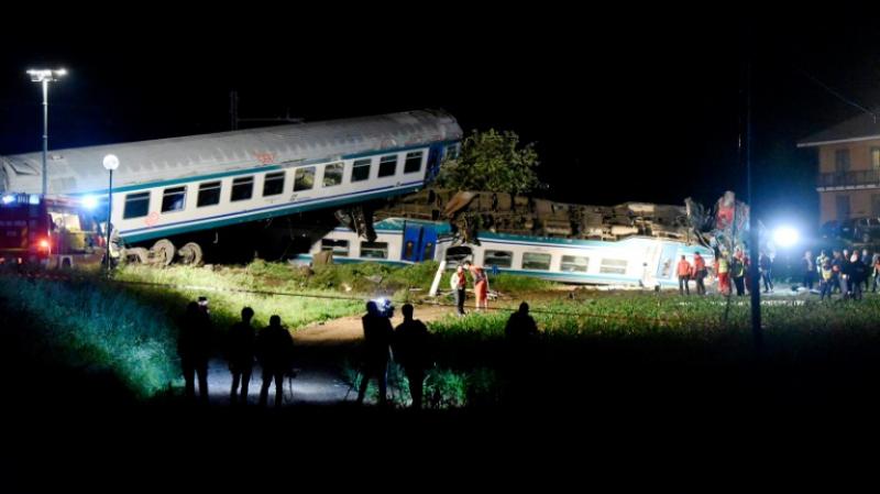 accident train Italie