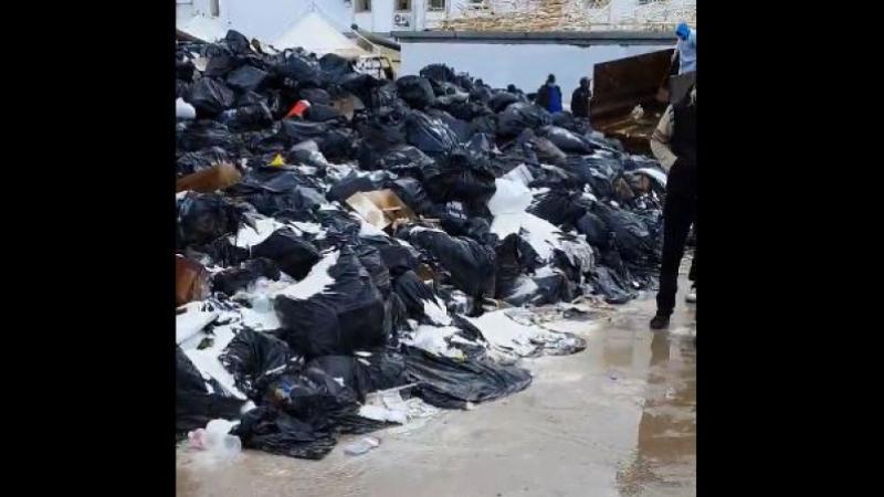 déchets au Chu de Sfax