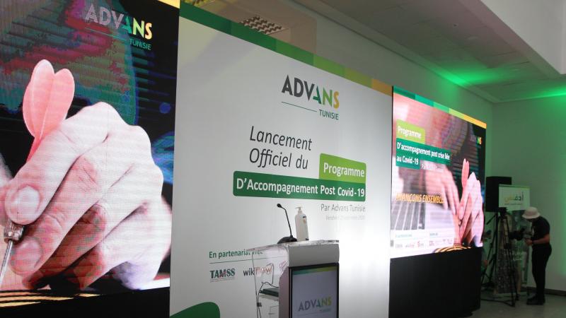 Advans lance son programme d'accompagnement «3 x 100%»