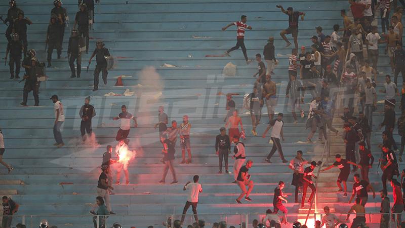 affrontements Stade de rades