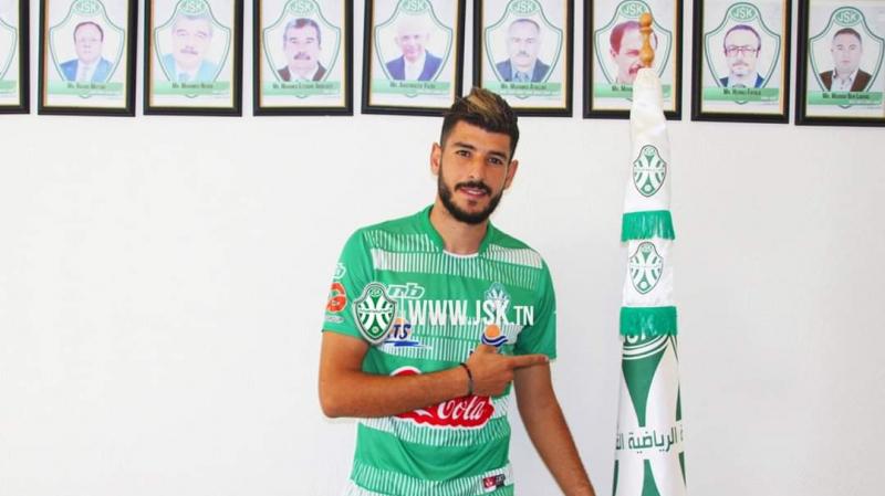 Ahmed Ammar au JSK