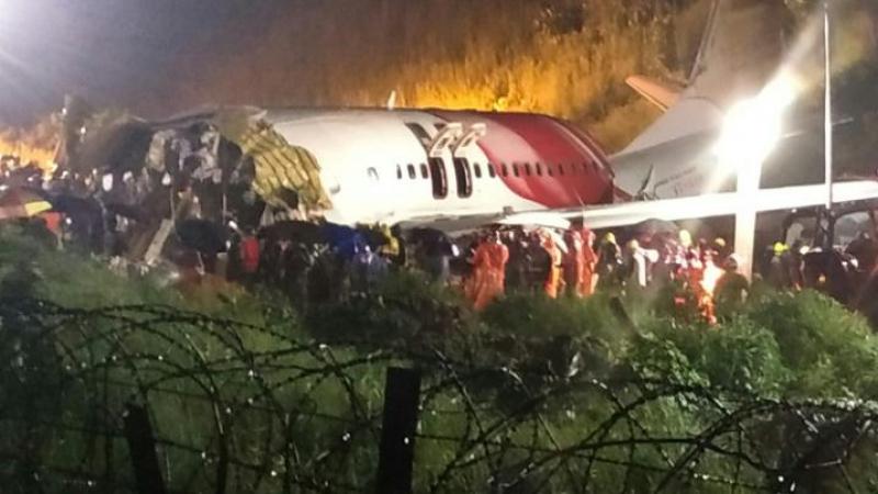 Air crash en Inde : Au moins 17 tués et des dizaines de blessés