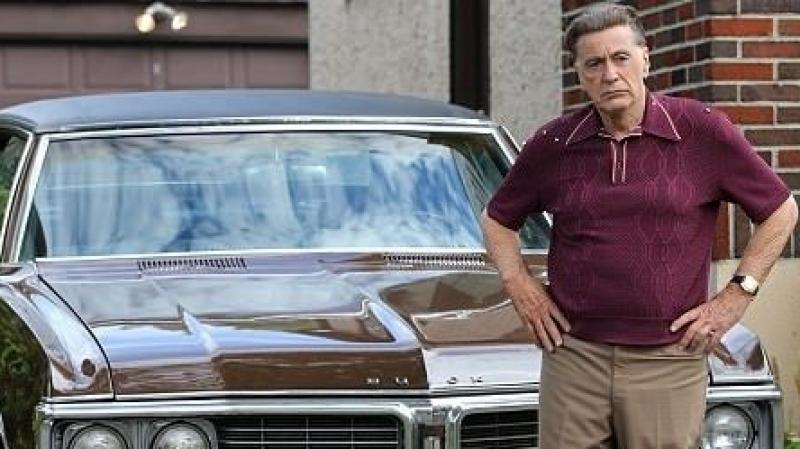 Al Pacino et Robert De Niro réunis sur le tournage du film de Scorsese