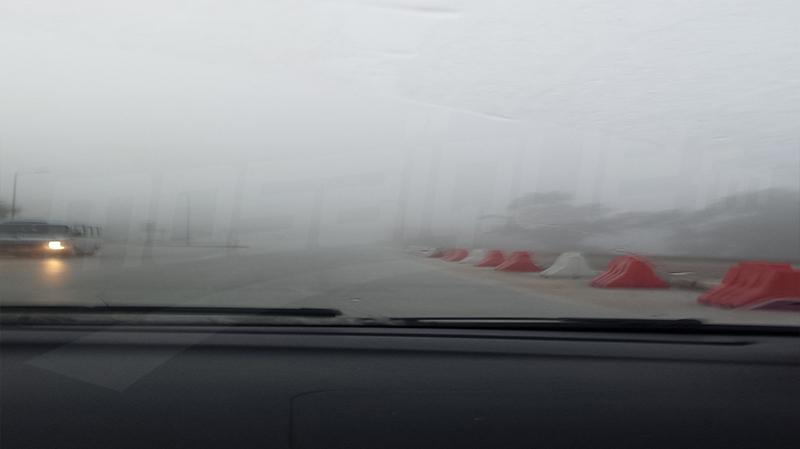 Alerte brouillard !