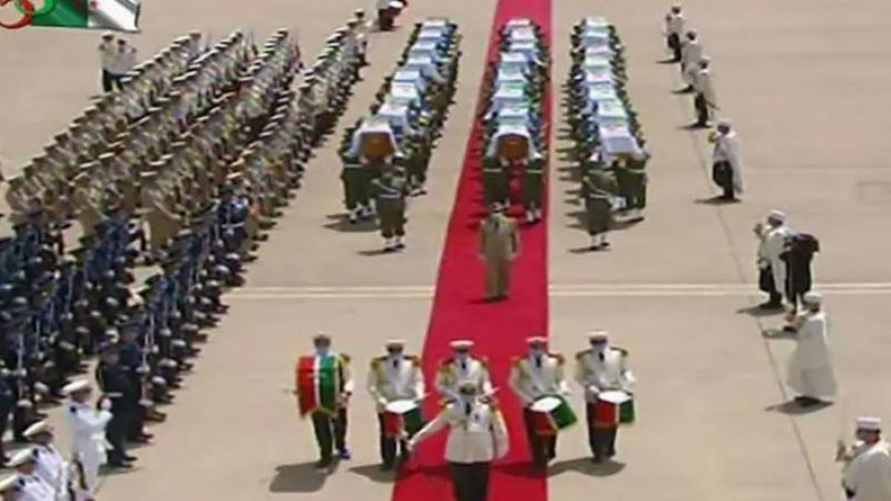 Algérie : Accueil solennel des restes des combattants après 170 ans