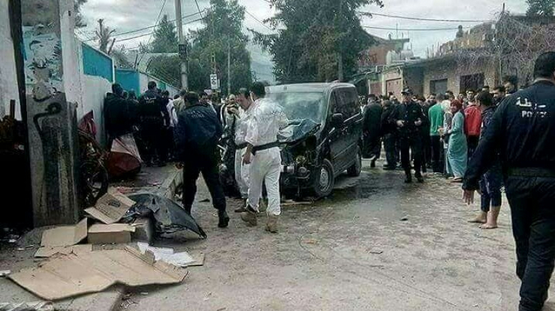 Algérie : une voiture fonce dans une foule d'élèves, au moins 4 morts