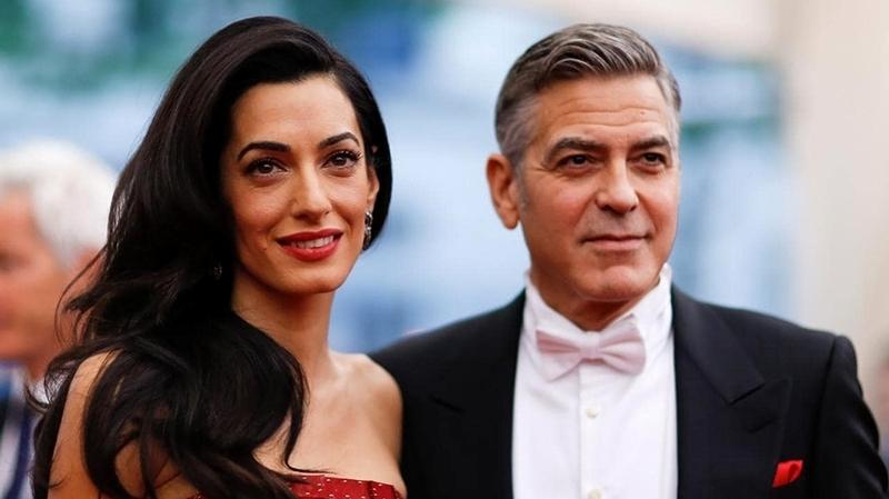 Amal Clooney et George Clooney