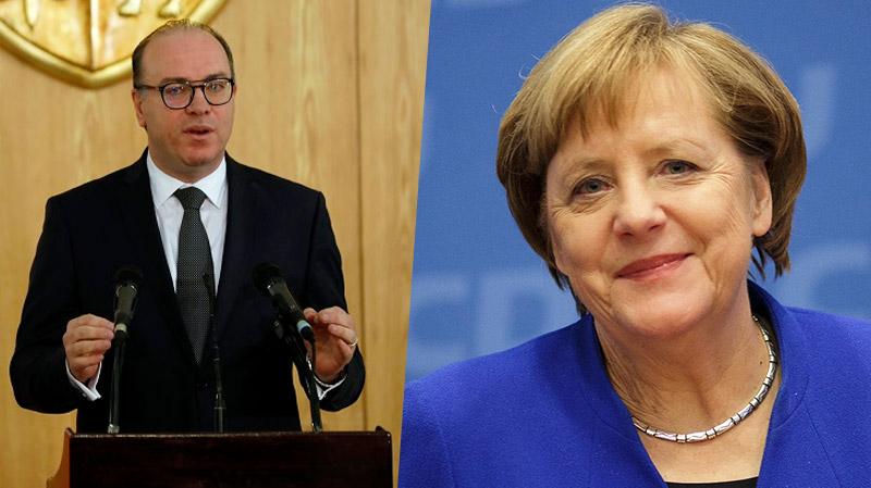 Angela Merkel: la 1ere à féliciter Elyes Fakhfakh
