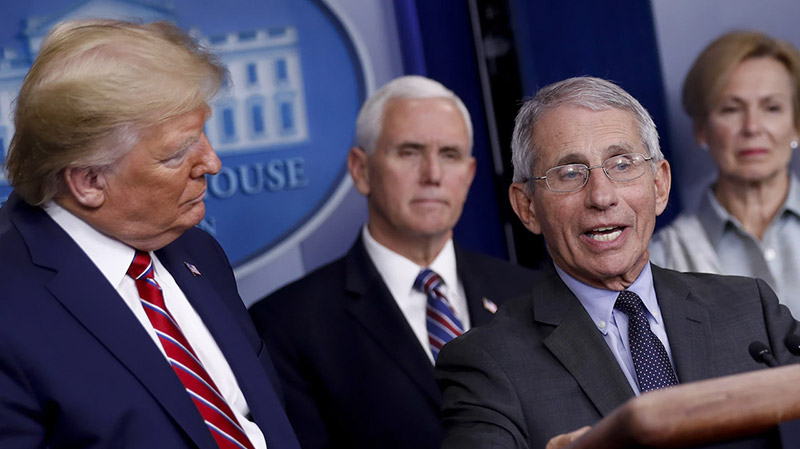 Anthony Fauci-donald-trump