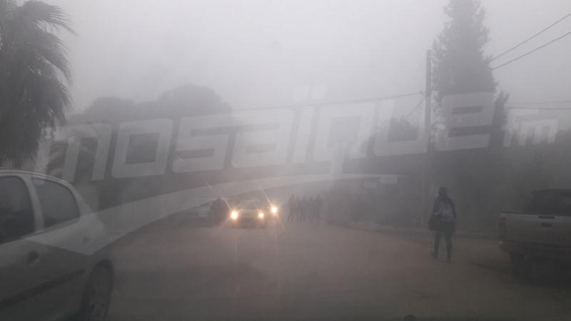 Appel à la vigilance sur l'A3 à cause d'un épais brouillard