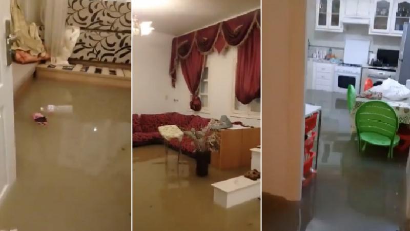 Ariana: drainage de l'eau dans les maisons