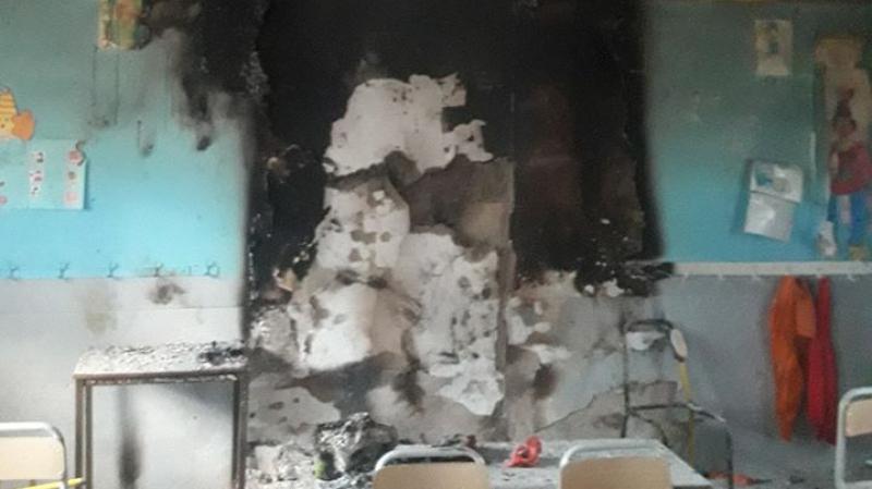 Ariana: Incendie dans une salle de classe