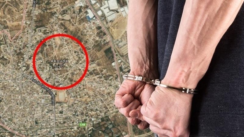 arrestation akouda