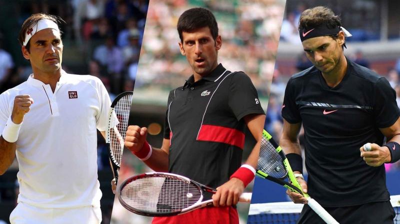 ATP : Le trio Djokovic, Nadal et Federer toujours en tête