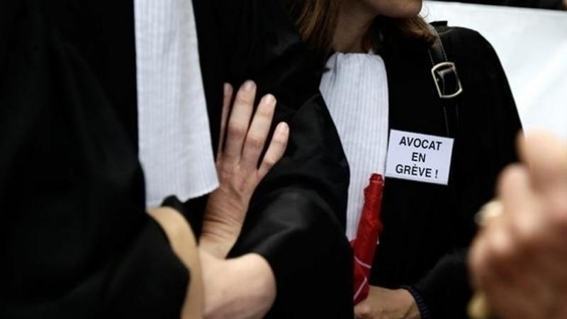 avocats en grève