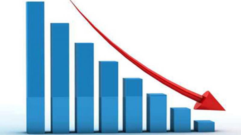 Baisse du taux d'inflation à la consommation