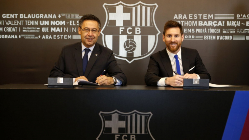 Barça: Messi jusqu'en 2021 avec une clause intouchable
