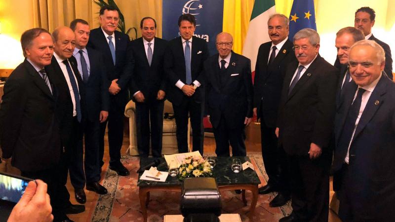 BCE participe à une réunion préparatoire à la Conférence  sur la Libye