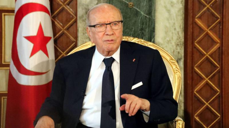 Béji Caïd Essebsi de Charm el-Cheikh à Genève