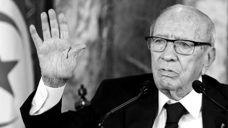 Beji Caid Essebsi Vient De Deceder Adieu Monsieur Le President