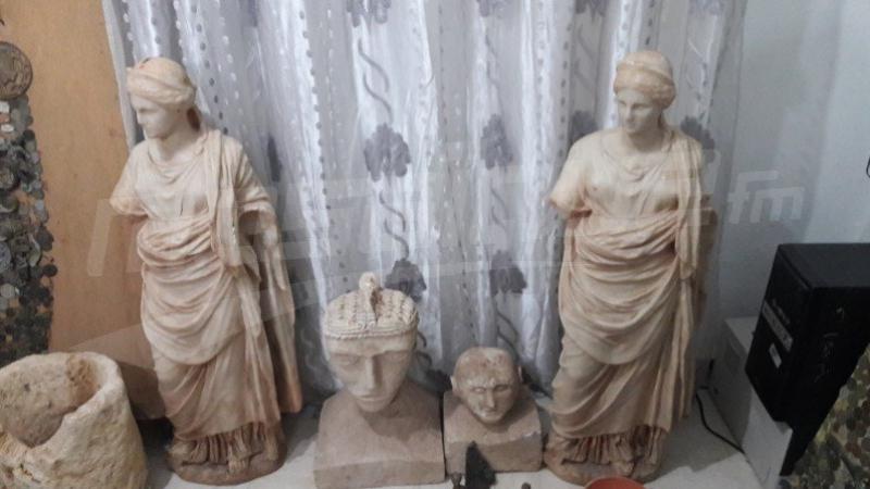 Bir Lahfay: Des pièces archéologiques retrouvées dans une huilerie