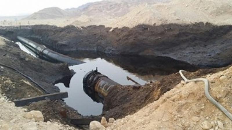 Bir Lahfay: infiltration de pétrole dans un pipeline