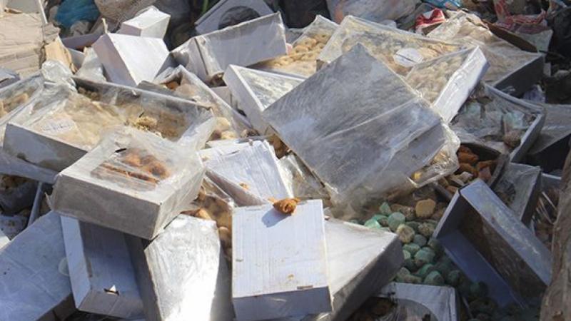 Bizerte: saisie de 600 kg de biscuits et de gâteaux