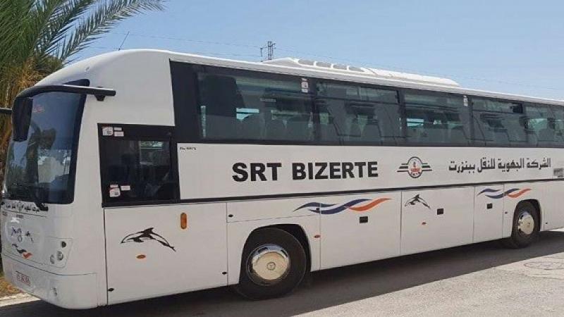 Bizerte : Un bus de la SRT incendié par des délinquants