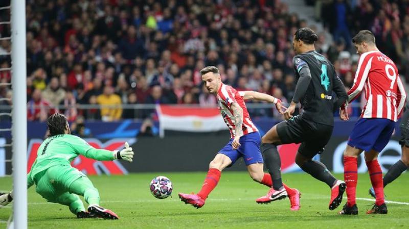 C1: Le tenant du titre Liverpool défait par l'Atlético Madrid