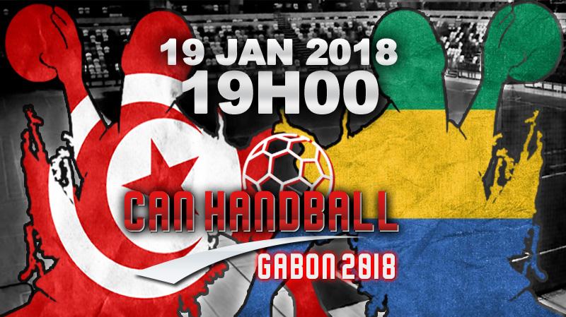 CAN 2018-Hand: La Tunisie affronte le Gabon