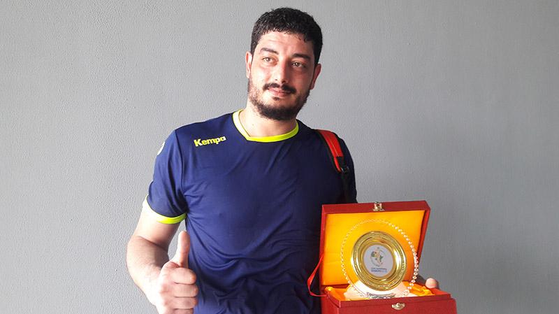 CAN Handball : Jihed Jaballah, homme du match face au Congo
