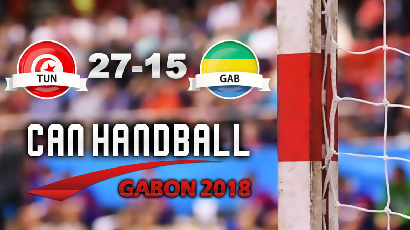 CAN Hand: la Tunisie s'impose facilement face au Gabon