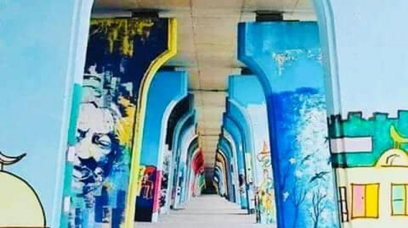 Chahed : Des fresques doivent orner les murs du pont de la République