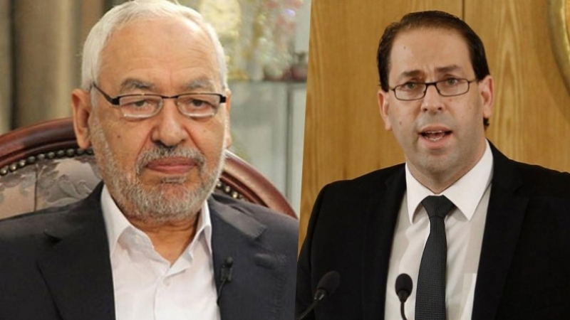 Chahed, Ghannouchi