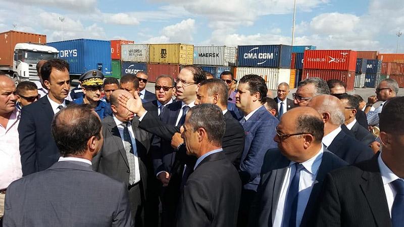 Chahed-port de Rades