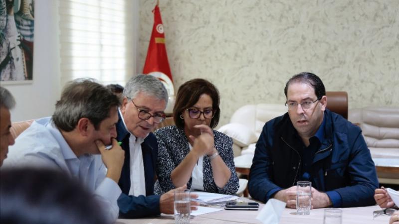 Chahed réunion