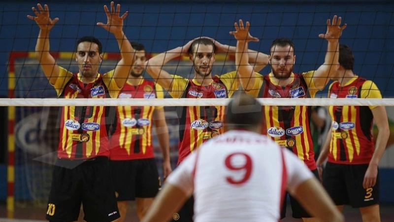Championnat arabe de Volleyball : l'EST bat le club libyen Souihly
