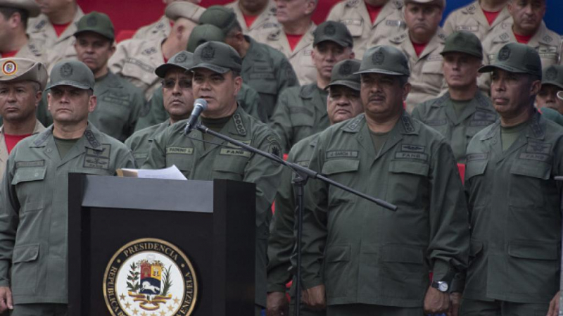 Chefs militaires-Venezuela