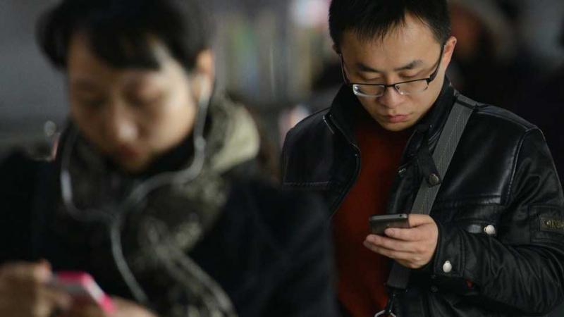 chinois-téléphones