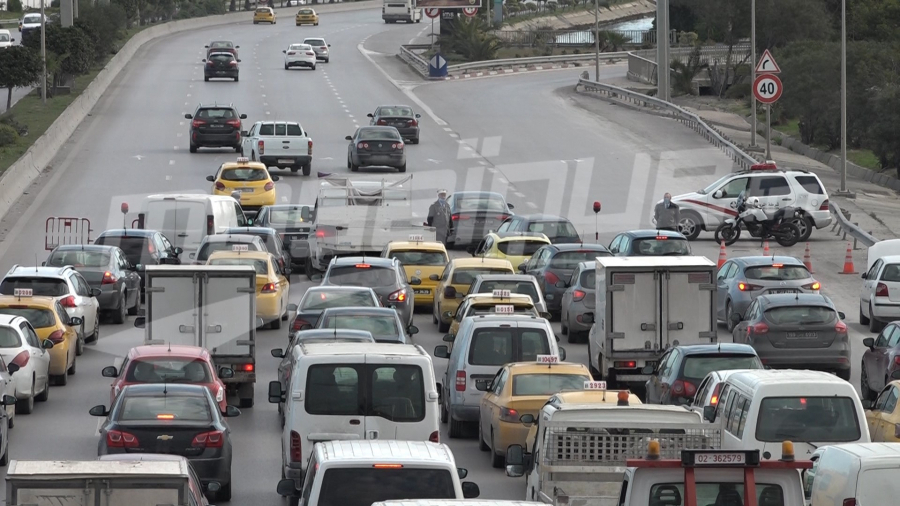 Circulation interdite des poids lourds au centre ville de Tunis