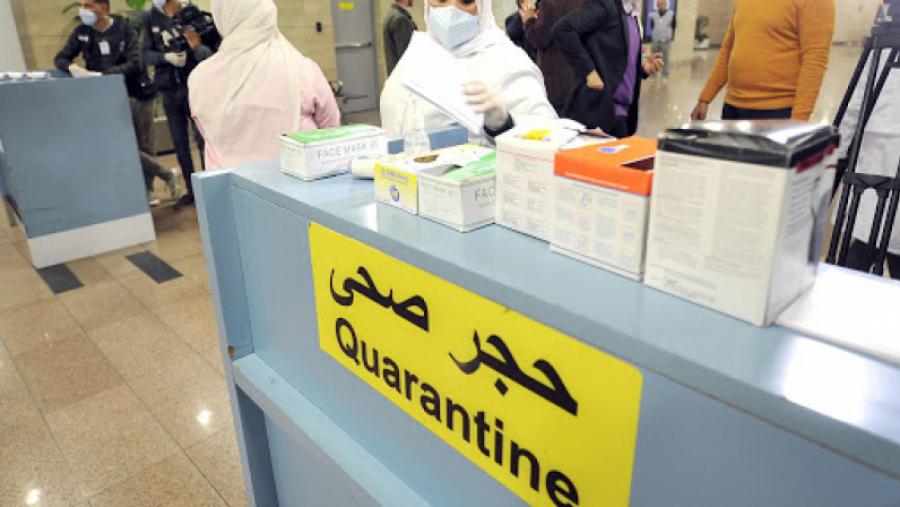 Confinement obligatoire pour les passagers à partir du 1er février
