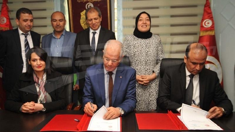 convention signée