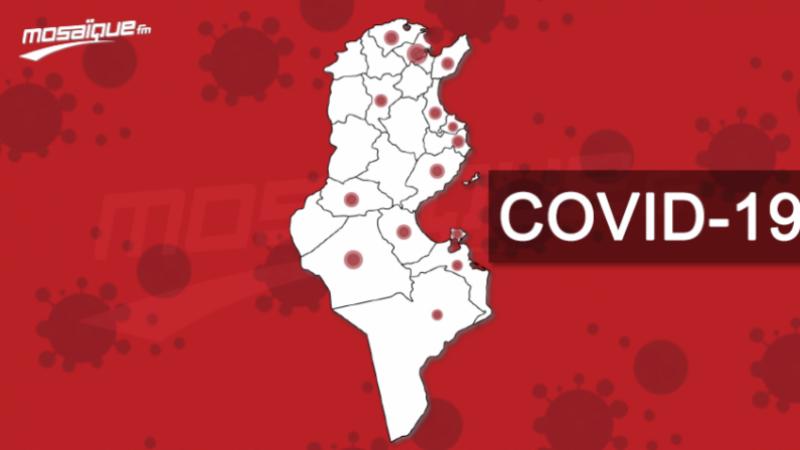 Coronavirus: 77 cas répartis sur 18 gouvernorats