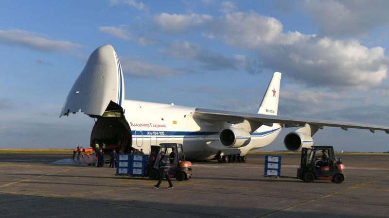 Coronavirus:Un avion chargé d'aide humanitaire russe arrive à New York