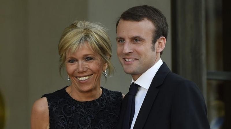 couple Macron